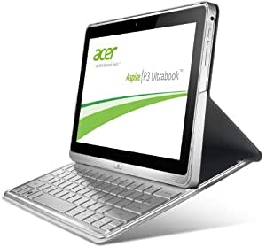 Acer Aspire P3-171-3322Y2G06as 29,5 cm (11,6 Zoll) Convertible Tablet-PC (Intel Core i3-3229Y, 1,4GHz, 2GB RAM, 60GB SSD, USB 3.0, Intel HD, Touchscreen mit IPS Technologie, Win 8) silber