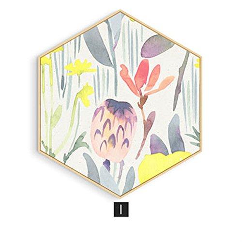 Zum Aufhängen Gemälde Living/Esszimmer Traceless Dekoration Schlafzimmer Nachttisch Art Garten Reinigen Wandmalereien Sofa Wände, I, S