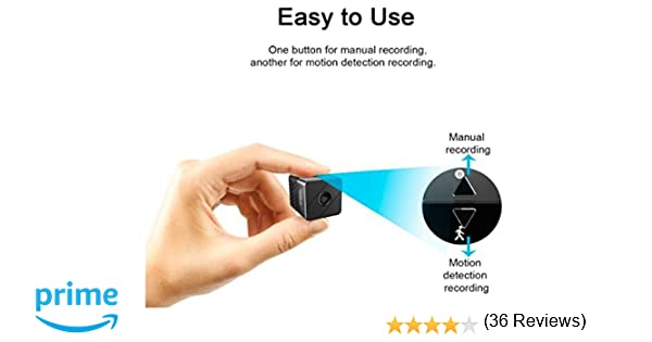 Microcamera spia spy cam pir motion detection sensore movimento