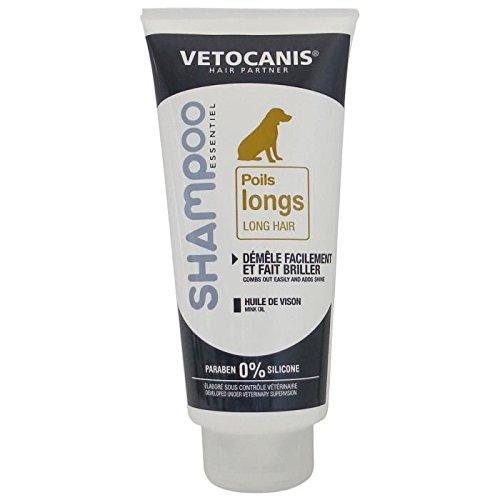 Vetocanis Shampoing Poils Longs Démêlant pour Chien 300 ML, 0% DE Paraben 0% DE...