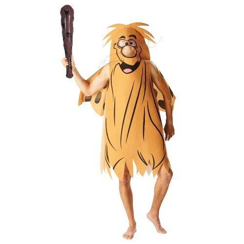 Official Captain Cave Man Fancy Dress Costume - X-Large