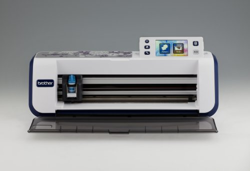 Brother CM600 Scan-N-Cut Schneideplotter mit Scanner weiß - 6