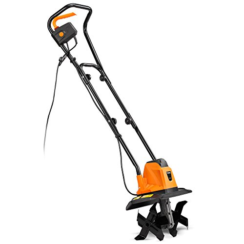 VonHaus Electric 1050W Tiller – Garden Soil Cultivator/Rotavator - 32cm Cutting Width Test