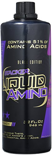 Stacker2 Amino Liquid Aminosäure BCAA Muskelaufbau BodybuildingFruit Punch (946ml)