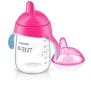 Philips AVENT Spout Cup SCF755/17 Sip no drip 12 oz/340 ml 18m+ Pink
