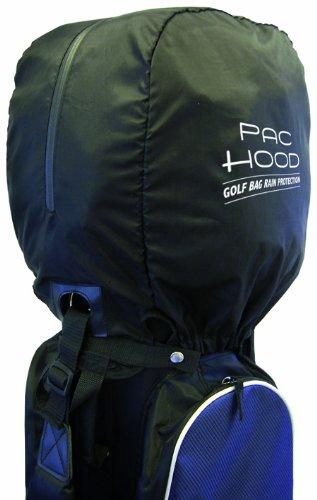 Golfers Club Pac Hood - housse de pluie - Protection pour sac de golf - Noir - Taille Unique
