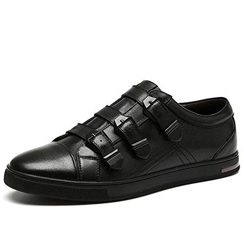 Automne hiver en cuir chaussures occasionnelles personnalité classique en plein air chaussures