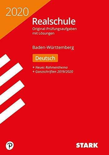 STARK Original-Prüfungen Realschule 2020 - Deutsch - BaWü