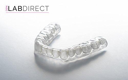 Dual-Laminierte Bruxismus Aufbißschiene / Zähneknirschen Schiene - Maßgeschneidert (3mm heftige knirschen) untere Zähne