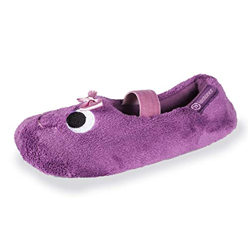 Isotoner Chaussons Ballerines Fille brodés