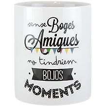 Mugníficas Tasse boges Amigues, céramique, blanc, 118x 8x 10cm