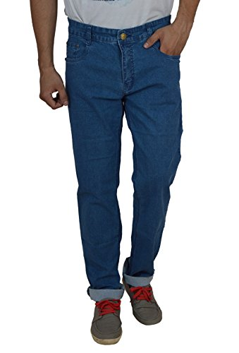 Studio Nexx Men's Denim Regular Fit Jeans (Blue, Size - 32)  available at amazon for Rs.729
