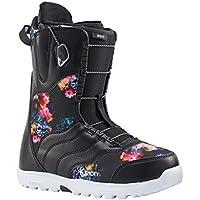 Burton Mint–Botas de Snowboard para Mujer, Color Black/Multi, tamaño 7,5