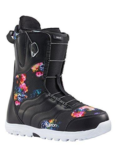 Burton Damen Mint Snowboardboots, Black/Multi, 9.0