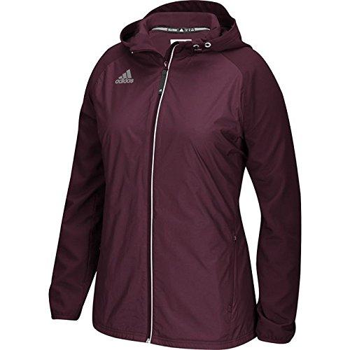 Adidas Modern Varsity donna giacca in tessuto Maroon