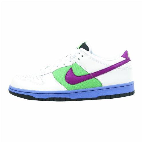 Nike Dunk Low scarpe da basket da donna White/Logan Berry-Tourmaline