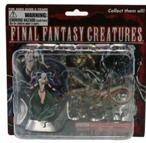Final Fantasy Creatures Figurine set - Yunalesca & Cerberus