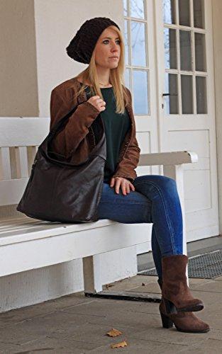 Rodhschild, Borsa a spalla donna marrone marrone chiaro Mahogany Braun