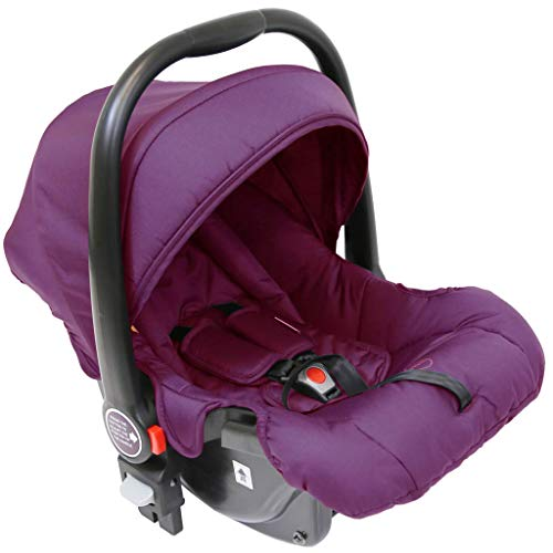 iSafe Marvel 2in1 Complete Pram System Pushchair and Carseat - Marrone  iSafe