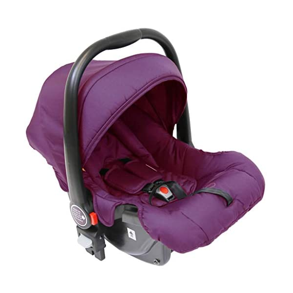 iSafe Marvel 2in1 Pram Travel System and Carseat - Marrone iSafe  5