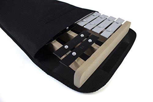 Prokussion-Glockenspiel soprano in legno, serie X, con Cover