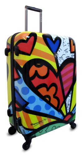 ... 50% SALE ... PREMIUM DESIGNER Hartschalen Koffer - Heys Künstler Britto A New Day - Trolley mit 4 Rollen Gross A New Day