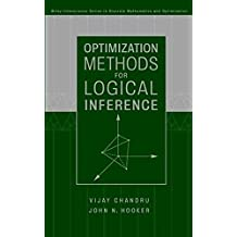 Optimization Methods for Logical Inference (Wiley-Interscience Series in Discrete Mathematics and Optimization)