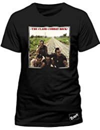 Live Nation Men's The Clash - Combat Rock Crew Neck Short Sleeve T-Shirt