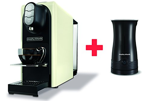 Morphy-Richards-Accents-Ivory-Cream-Coffee-Machine-Milk-Frother-Nespresso-Compatible