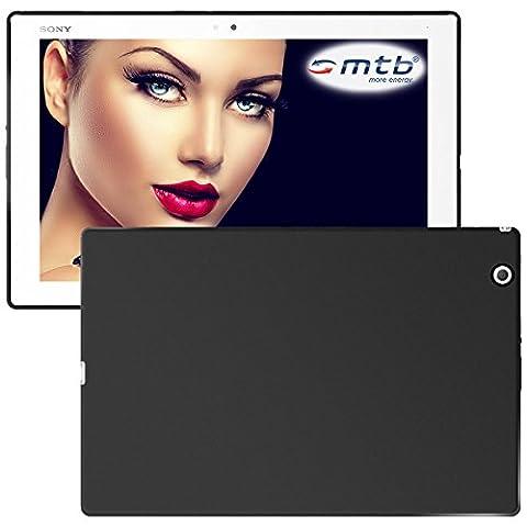 mtb more energy® Schutzhülle Grip für Sony Xperia Z4 Tablet (SGP712, SGP771 / 10.1'')   Schwarz (matt)   flexibel   TPU Case Schutz Hülle