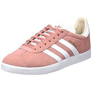 adidas Damen Gazelle Sneakers, Mehrfarbig (Ashpnkftwwhtlinen), 40 EU