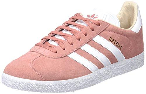 adidas Gazelle W, Chaussures de Fitness Femme, Rose (Roscen/Ftwbla 000), 41 1/3 EU