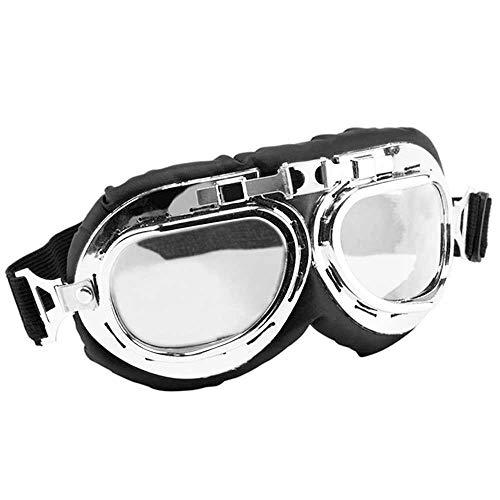 Ociodual Gafas Moto Motocicleta Tipo Aviador Protectoras