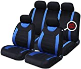 Best Seat Covers - xtremeauto xa5292djw Full Set of Seat Covers, Sticker Review