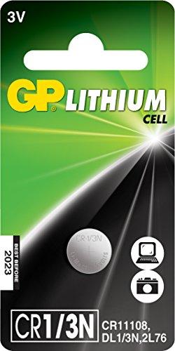 Lithium Batterie CR 1/3N (DL1/3N, 2L76, CR11108, 3 Volt) 3n Lithium-batterie