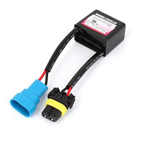 sourcingmap condensador canceladora Aviso decodificador ANTIPARPADEO 9-16V para...
