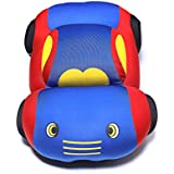 Baby Oodles 3D Car Shaped Super Plush Pillow / Cushion - Blue For Kids