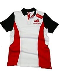 Super Aguri Polo Camisa: fórmula uno 1 F1 Blanco, Hombre, ...