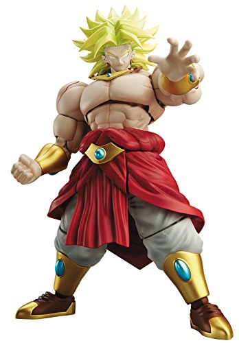 Bandai Model Kit Figure Rise Leg-Super Saiyan Broly, 18 cm, 24476