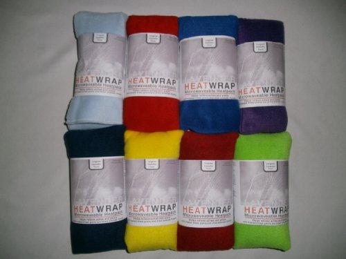 Fleece-Tuch für Mikrowelle, Weizen und Lavendel, verschiedene Farben - Microwavable Heat Pack