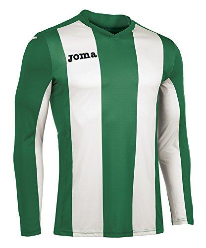 Joma Pisa Langarm T-Shirt, Herren, Herren, Pisa grün-weiß