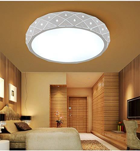 WenMing Kinder Kinder Beleuchtung Deckenleuchten Schlafzimmer Runde Led Balkon Laterne 48 cm Weiß Zeitgenössische Moderne Lampe -