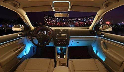 Gift Online Auto Bluetooth Led Ambiente Tuning Luci Base Kit Ambiente Luci Led Fibra Ottica Luce Port