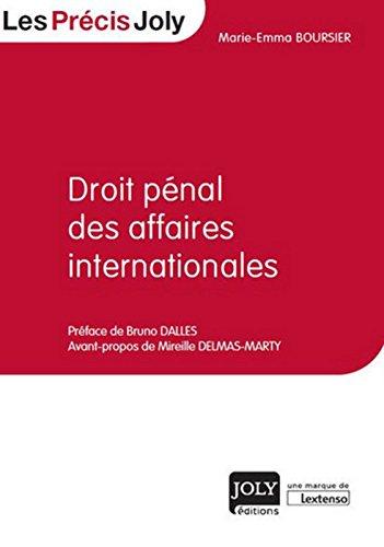 Droit pénal des affaires internationales