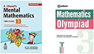 S Chand's Mental Mathematics for Class-3&Mathematics Olympiad For Class 3rd(Set of