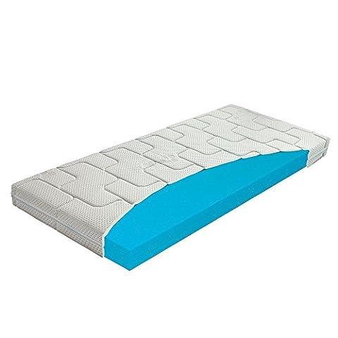 Beste 80x160 Kaltschaum-Matratze für Kinder, Babymatratze für Kinderbett / Krippe, Abnehmbarer, Waschbarer Bezug mit Seealgen-Extrakt im Bezug für Besseren Schlaf & Gesundheit, Höhe 10 (Günstige Jugendbetten)