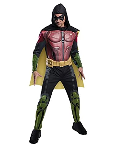 Arkham Robin Costumes - Robin Costume pour homme, Arkham City Muscle