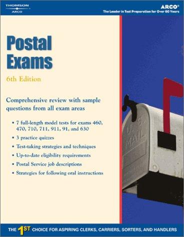 Postal Exams (Arco Civil Service Test Tutor)