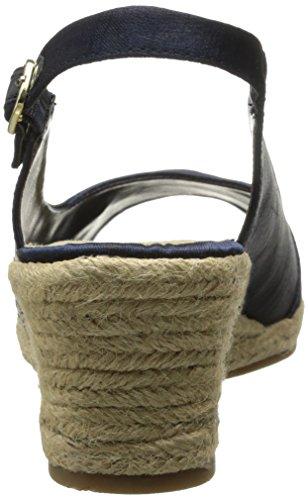 Bella Vita Sangria Too Textile Keilabsätze Sandale Nvy
