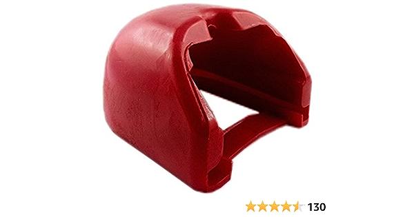 Iapyx Prallschutz Soft Dock Für Kupplungsklaue Zugkugelkupplungen Rot Auto